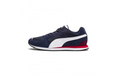 Puma Vista Sneakers Peacoat- White-Red Outlet Sale