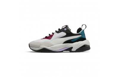 Puma Thunder Rive Droite Women's Sneakers Glacier Gray-Barbados Cherry Outlet Sale
