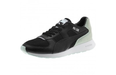 Puma RS-150 Contrast Women's Sneakers Black-Fair Aqua Outlet Sale