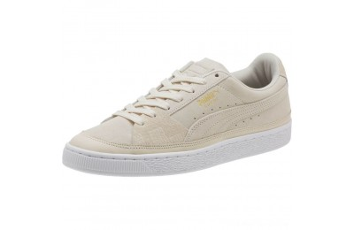 Puma Suede Skate Premium Sneakers Whisper White- White Outlet Sale