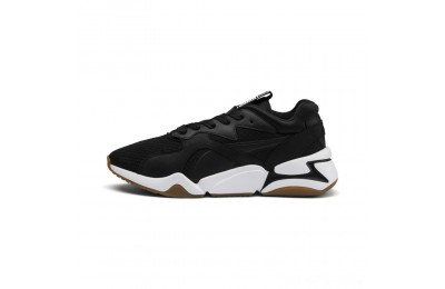 Black Friday 2020 Puma Nova '90s Bloc Women's Sneakers Black- Black Outlet Sale