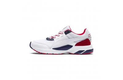 Puma Future Runner Premium Sneakers White-Peacoat-Red Outlet Sale
