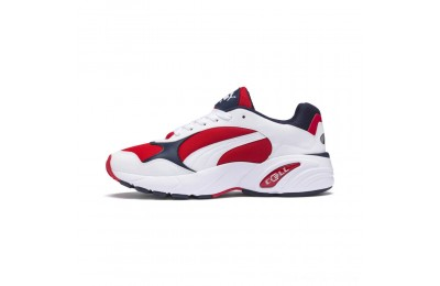 Puma CELL Viper Sneakers White-High Risk Red Outlet Sale