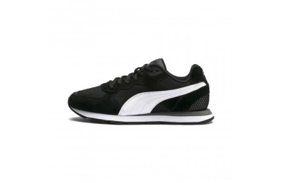Puma Vista Sneakers JR Black- White Outlet Sale