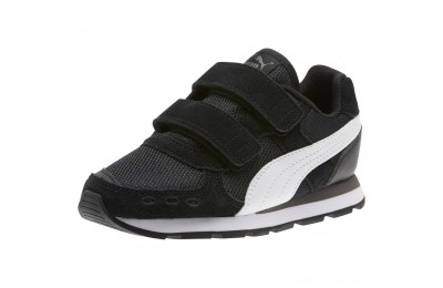 Black Friday 2020 Puma Vista Sneakers PS Black- White Outlet Sale