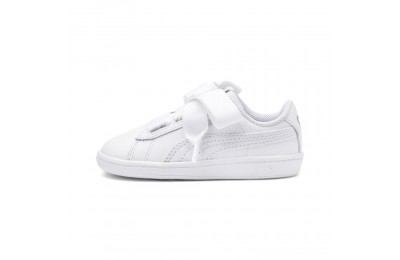 Puma PUMA Vikky Ribbon Satin AC Sneakers INF White- White Outlet Sale