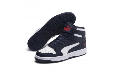 Puma PUMA Rebound LayUp SL Sneakers Peacoat- White-Red Outlet Sale