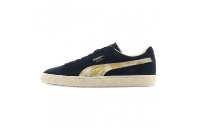 Puma Suede MIJ Sneakers Peacoat- Team Gold Outlet Sale