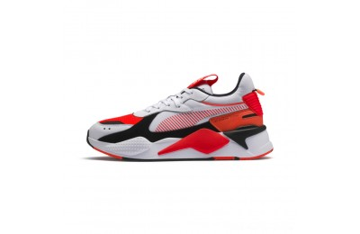Puma RS-X Reinvention Men's Sneakers White-Red Blast Outlet Sale