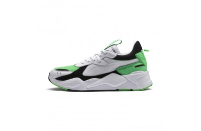Puma RS-X Reinvention Men's Sneakers White-Irish Green Outlet Sale