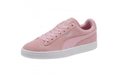 Puma Suede Galaxy Women's Sneakers Pale Pink- Silver Outlet Sale