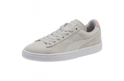 Puma Suede Galaxy Women's Sneakers Gray Violet- Silver Outlet Sale