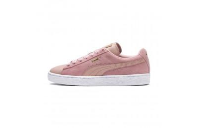Puma Suede Shimmer Women's Sneakers Bridal Rose- White Outlet Sale