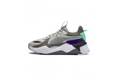 Black Friday 2020 Puma RS-X Tracks JRGray Violet-Charcoal Gray Outlet Sale