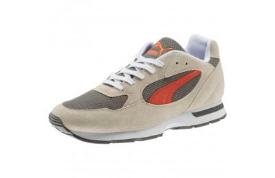 Puma Proclaim Suede Sneakers Silver Gray-Charcoal Gray Outlet Sale