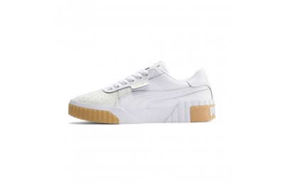 Black Friday 2020 Puma Cali Exotic Women's Sneakers White- White Outlet Sale