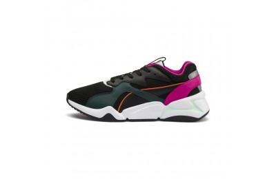 Puma Nova Mesh Women's Sneakers Black-Fair Aqua Outlet Sale
