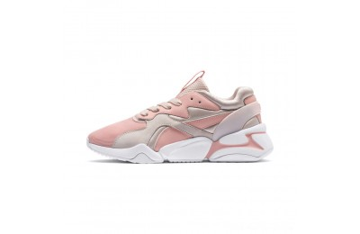 Black Friday 2020 Puma Nova GRL PWR Women's Sneakers Peach Bud-Pearl Blush Outlet Sale
