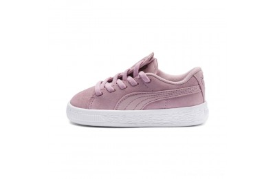 Puma Suede Crush AC Sneakers INFPale Pink- Silver Outlet Sale