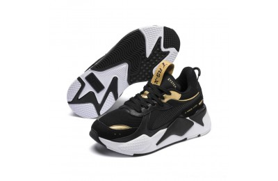 Black Friday 2020 Puma RS-X Trophy JR Black- Team Gold Outlet Sale
