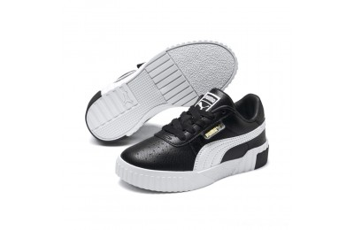 Puma Cali Sneakers PS Black- Team Gold Outlet Sale