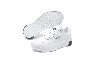 Black Friday 2020 Puma Cali Sneakers PS White- Black Outlet Sale
