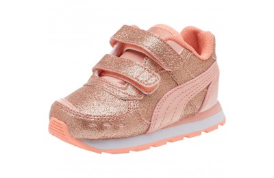 Puma Vista Glitz Sneakers INFPeach Bud-Bright Peach-White Outlet Sale