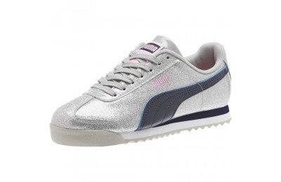 Puma Roma Glam Sneakers JRGray Violet-Peacoat Outlet Sale