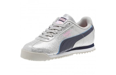 Black Friday 2020 Puma Roma Glam Sneakers PSGray Violet-Peacoat Outlet Sale