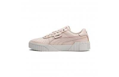 Puma Cali Emboss Women's Sneakers Cream Tan-Cream Tan Outlet Sale