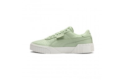 Black Friday 2020 Puma Cali Emboss Women's Sneakers Smoke Green-Smoke Green Outlet Sale