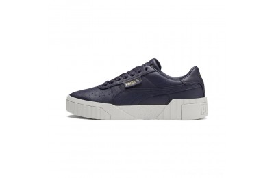 Black Friday 2020 Puma Cali Emboss Women's Sneakers Peacoat-Peacoat Outlet Sale