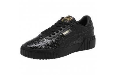 Black Friday 2020 Puma Cali Croc Women's Sneakers Black- Black Outlet Sale