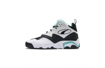 Puma Source Mid Sneakers White- Black-Blue Outlet Sale