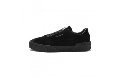 Puma Cali Velvet Women's Sneakers Black- Black Outlet Sale