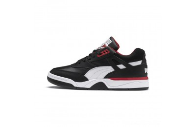 Black Friday 2020 Puma Palace Guard Men's Sneakers Black- White-red Outlet Sale
