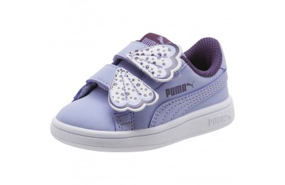 Puma PUMA Smash v2 Butterfly AC Sneakers INFSweet Lavender-Indigo-White Outlet Sale