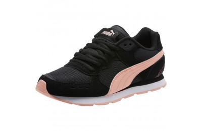 Black Friday 2020 Puma Vista Women's Sneakers Black-Peach Bud Outlet Sale