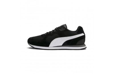 Puma Vista Women's Sneakers Black-White-Charcoal Gray Outlet Sale