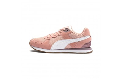 Puma Vista Women's Sneakers Peach Bud-White-Elderberry Outlet Sale