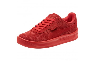 Puma California Embossed Floral Women's Sneakers Hibiscus Outlet Sale