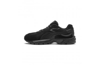 Puma Axis Plus SDBlack-Black-Asphalt Outlet Sale