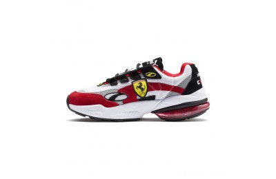 Black Friday 2020 Puma Scuderia Ferrari CELL Venom Sneakers White-Rosso Corsa Outlet Sale