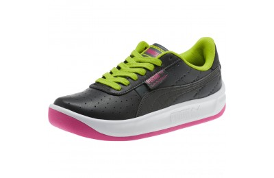 Puma California 90s Women's Sneakers Black-Fuchsia Purple Outlet Sale