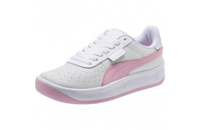 Puma California Women's Sneakers Wht-Pale Pink- Wht Outlet Sale