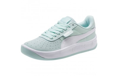 Black Friday 2020 Puma California Women's Sneakers Fair Aqua- Wht- Wht Outlet Sale