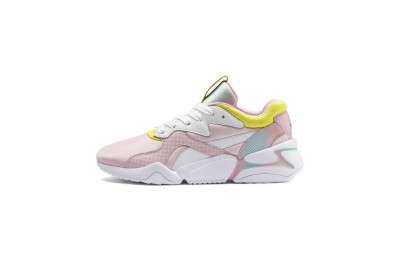 Puma Nova x Barbie Women's Sneakers White-Orchid Pink Outlet Sale