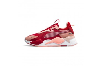 Puma RS-X Toys Women's Sneakers Bright Peach-High Risk Red Outlet Sale