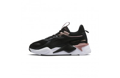 Black Friday 2020 Puma RS-X Trophy Women's Sneakers Black-Rose Gold Outlet Sale