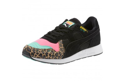 Black Friday 2020 Puma RS-100 Party Cheetah Sneakers JRKNOCKOUT PINK- Black Outlet Sale